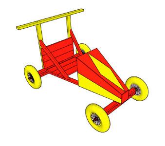 hjul til sæbekassebil