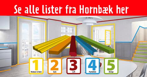 Se alle lister fra Hornbæk