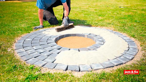 Alle nye Byg dit eget bålsted i haven | jem & fix OJ84