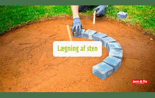 Lige ud Byg dit eget bålsted i haven | jem & fix OB33
